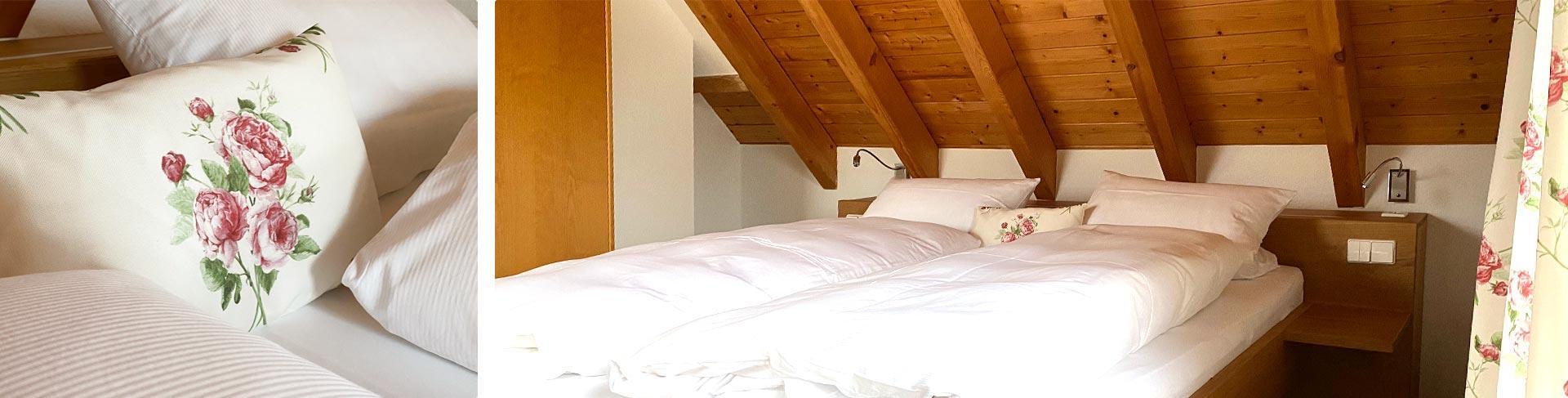 Untern Dach: geräumiges Zimmer zum Wohlfühlen neu renoviert